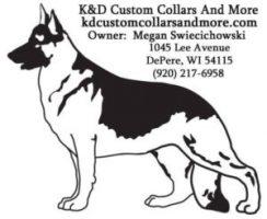 K&D Custom Collars logo